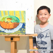 Jordan(Mar-2018) Pure Arts Class for Age 5-6