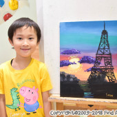 Jordan(Jul-2018) Pure Arts Class for Age 5-6