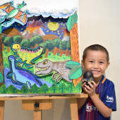 Jordan(May-2018) Documentary Arts Class for Age 4-5