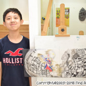 Jordan(Sep-Dec 2018) Visual Arts for Age 13-18