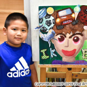 Jordan(Apr-2019) Documentary Arts Class for Age 4-5