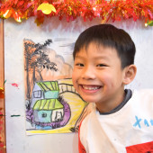 Jordan(Feb-2018) Pure Arts Class for Age 5-6