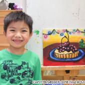 Jordan(Dec-2018) Pure Arts Class for Age 5-6