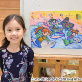 Jordan(Mar-2019) Pure Arts Class for Age 5-6