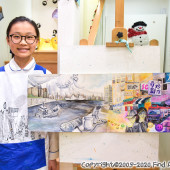 佐敦(9-12月,2019) Visual Arts Class for Age 13-18